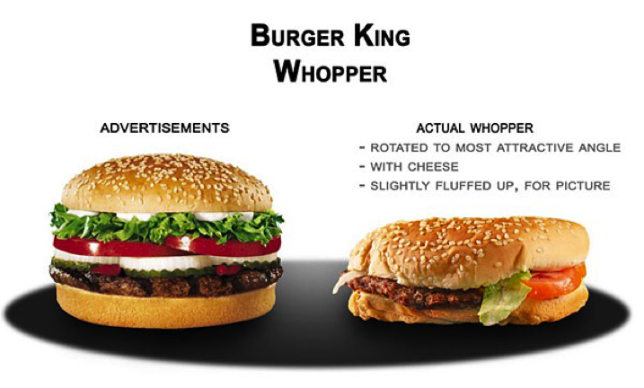 This Is Probably One Of My Favorite Articles Ever Written Because I Always Have Seen Commercials For McDonalds And Burger King Where The Cheeseburgers Look