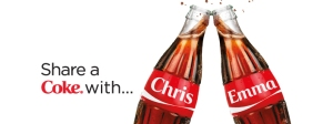 My Own COKE : 'Share  a Coke' Campaign