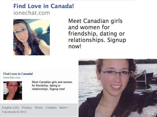 Canadian Girl Used For      The Worst Facebook Ad Ever        Loyola     Loyola Digital Advertising   WordPress com