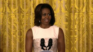 Michelle Obama junk food announcement
