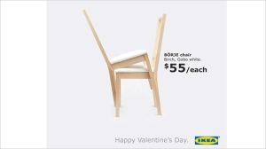 Ikea's Valentines Day Take Over