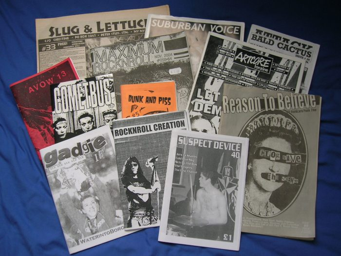 Photo credit: http://en.wikipedia.org/wiki/Punk_zine