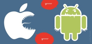 Apple vs. Android.  Retrieved from http://www.digitalgossips.com/2013/07/would-apple-be-dominant-search-engine.html