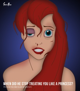 Artist Puts Disney Characters in a New, Disturbing Light