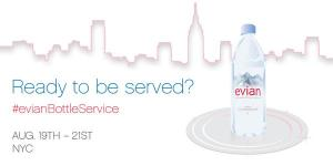 Evian Advertisements Makes Splash on Social Media Users