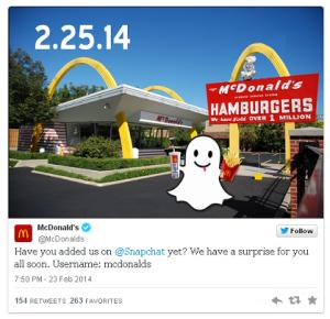 McDonalds-on-Snapchat
