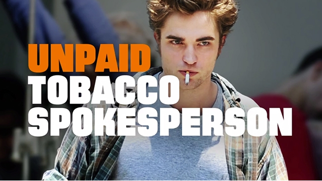 A scene in the American Legacy Foundation's latest anti-smoking campaign
