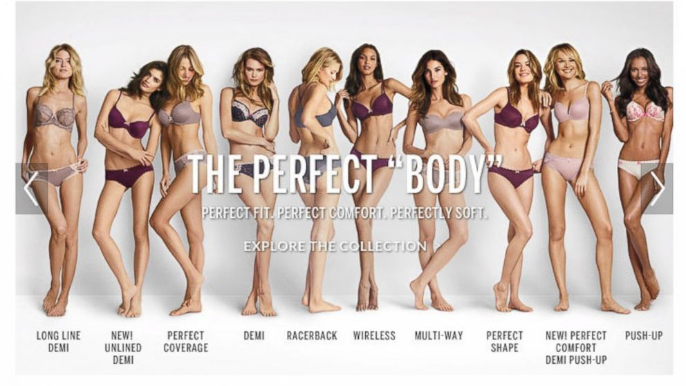 "Who Can Define ""The Perfect Body"""